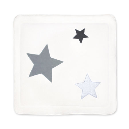 Padded play mat Softy 100x100cm STARY Ecru
